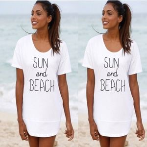 Other - Sun and Beach Tee/Cover Up